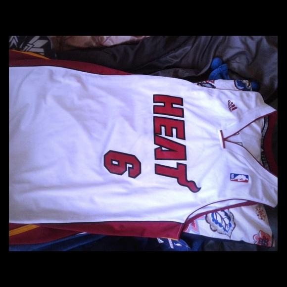 size 40 d5d5d ad87f Lebron James Miami heat jersey NWT